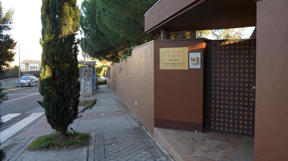 Acusan a mexicano por asalto a embajada de Norcorea en España