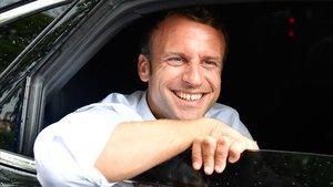 Emmanuel Macron, exalumno de la elitista ENA.