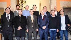Encuentro de los representantes de CZF con alcaldes y agentes del territorio.