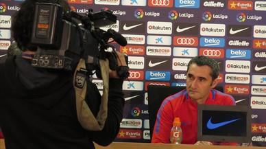 """Valverde: """"Haré cambios, pero no especularemos con la ventaja de puntos"""""""