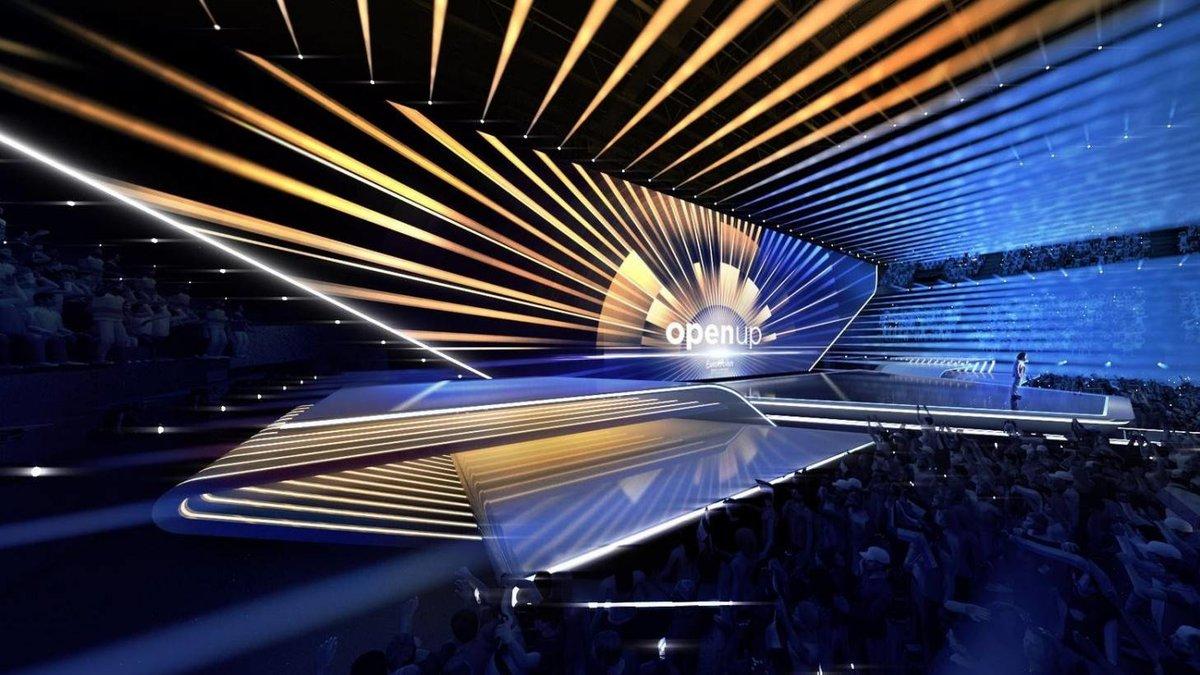 Así será el escenario minimalista de Eurovisión 2020 en Róterdam