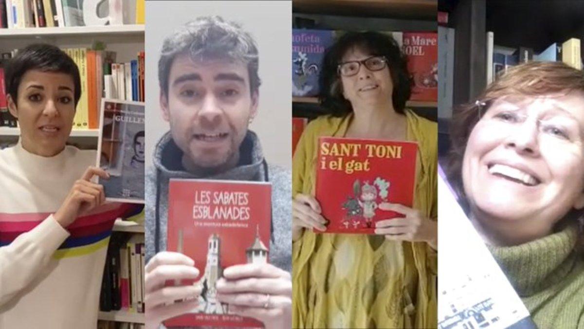 Escriptors de Sabadell llegeixen les seves obres 'online' per celebrar el Sant Jordi des de casa