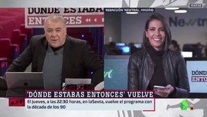 """Ana Pastor invita a Ferreras a su programa y él le da plantón porque """"juega el Madrid"""""""