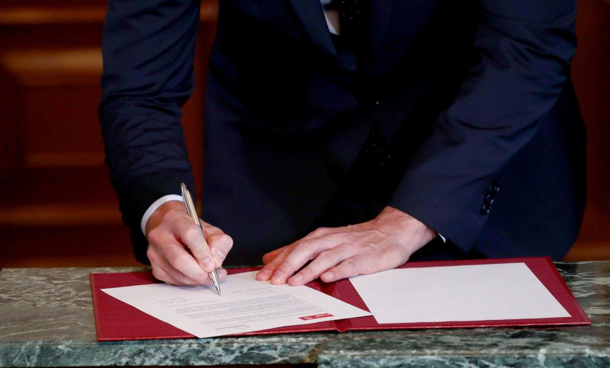 Acuerdo PSOE-Unidas Podemos para un Gobierno de coalición   Texto íntegro y PDF