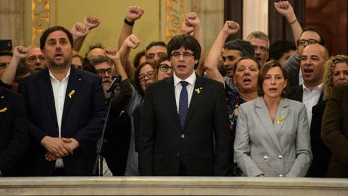 El fiscal Maza acusa de sedición a Puigdemont, Forcadell y colaboradores