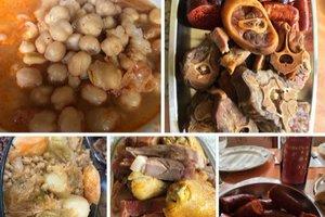 El fotomontaje del primer cocido de la temporada que Instagram le ha borrado al vigués Richard Barreira.