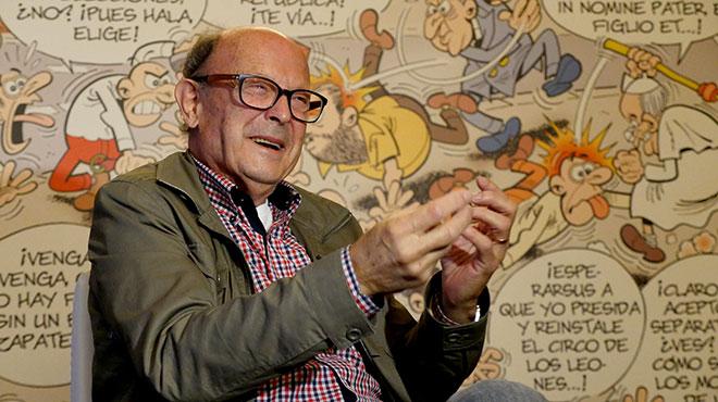 Entrevista con el humorista catalán