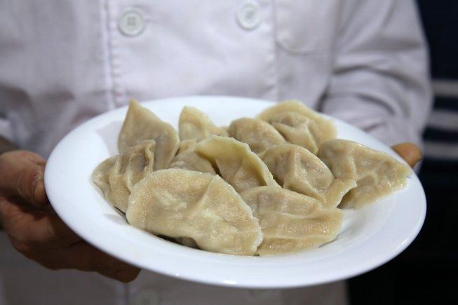 Gyozas del restaurante Jiao Zi Q.