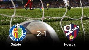 El Huesca pierde frente al Getafe (2-1)