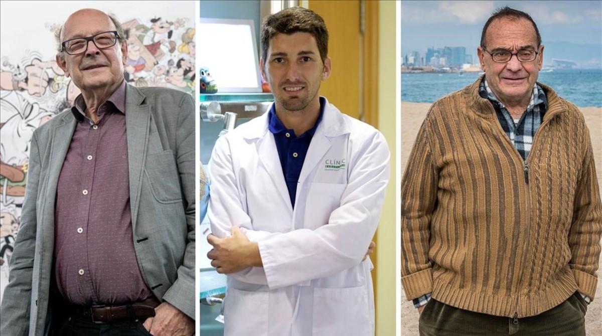 Ibáñez, Mitjà y Pousa, los tres candidatos que siguen en liza en el Català de lAny 2016.
