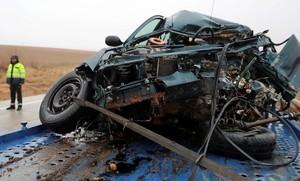 Imagen de archivo de un accidente en diciembre 2017.