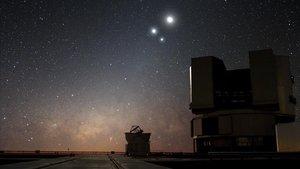 Imagen del Very Large TelescopedelObservatorio Europeo Austral