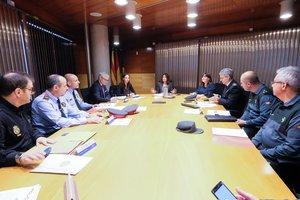 Imagen de la Junta Local de Seguridad de Gavà del mes de noviembre