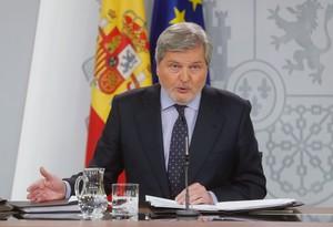 El ministro de Educación Cultura y Deporte Íñigo Méndez de Vigo.