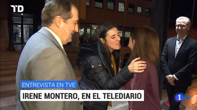 Jareño recibea Montero (TVE-1).