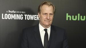 El actor Jeff Daniels, en la presentación de la serie The Looming Tower, el pasado 15 de febrero, enNueva York.