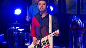 Jaume Pla, Mazoni, en un concierto en Barcelona.