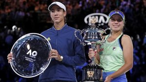 Muguruza cau contra Kenin a la final de l'Open d'Austràlia