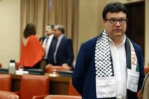 Joan Josep Nuet, candidato número 6 de Catalunya Sí que es pot en Barcelona.