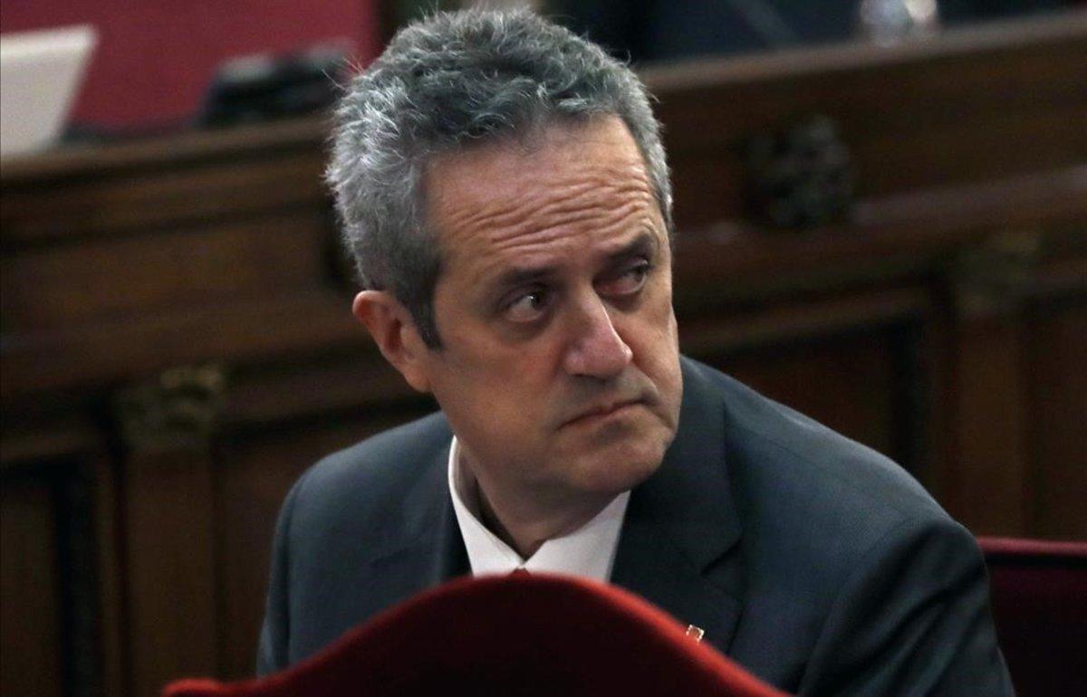 Forn, durante el juicio por el procés en el Tribunal Supremo.