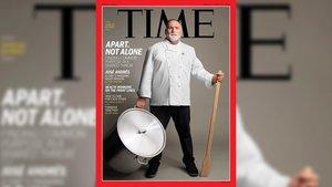 José Andrés, portada de 'Time' por su labor social en esta crisis del coronavirus.