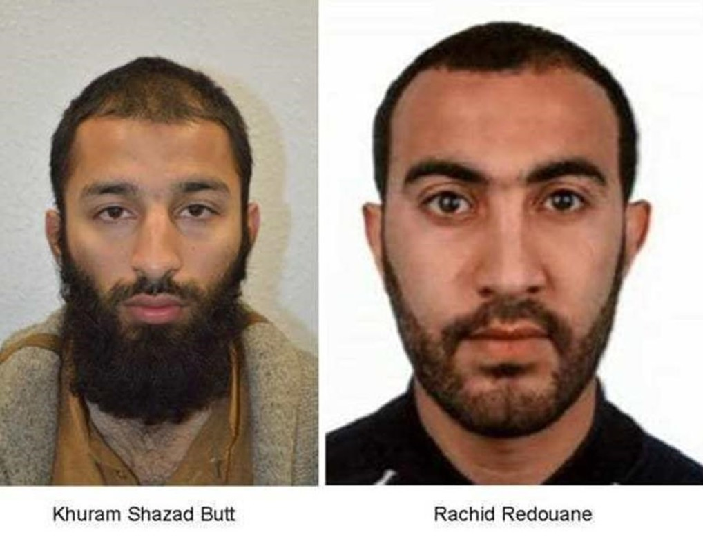 Khuram Shazad Butt y Rachid Redouane.