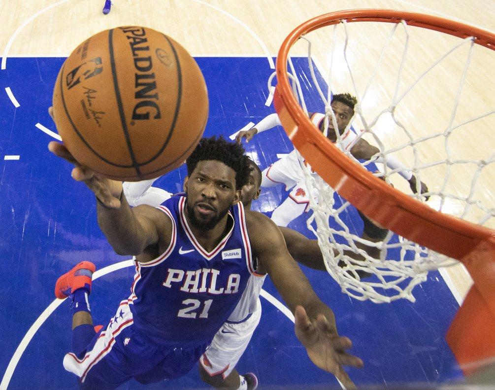 Philadelphia nunca estuvo en desventaja y supo manejar el partido con autoridad.