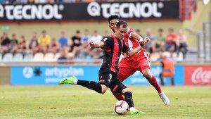 Linares, del Reus, en una jugada de ataque.