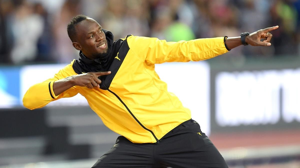 Usain Bolt, en Londres, el pasado 13 de agosto.