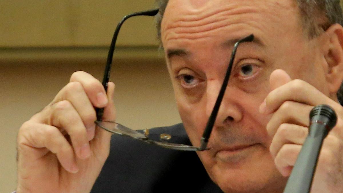Luis María Linde, presidente del Banco de España.