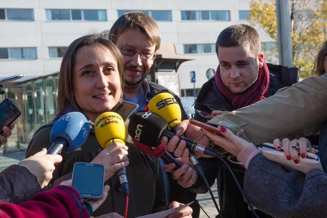 Marta Sibina, número dos de la candidatura de En Comú Podem.