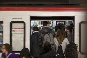 Restablerta l'L-3 del metro de Barcelona entre Zona Universitària i Sants