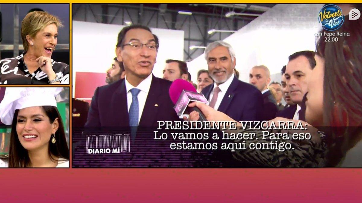 """Miriam Saavedra consigue hablar con el presidente de Perú y se emociona: """"Me siento orgullosa"""""""
