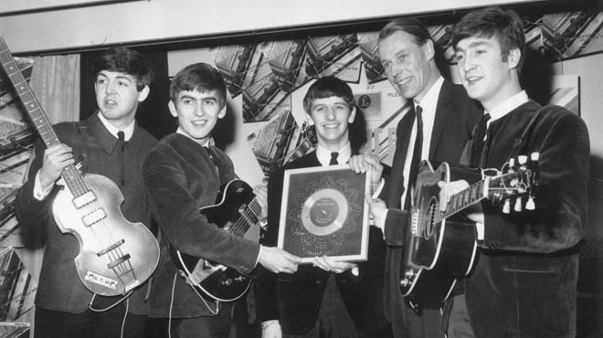 George Martin va obrir la porta del negoci musical al quartet de Liverpool.