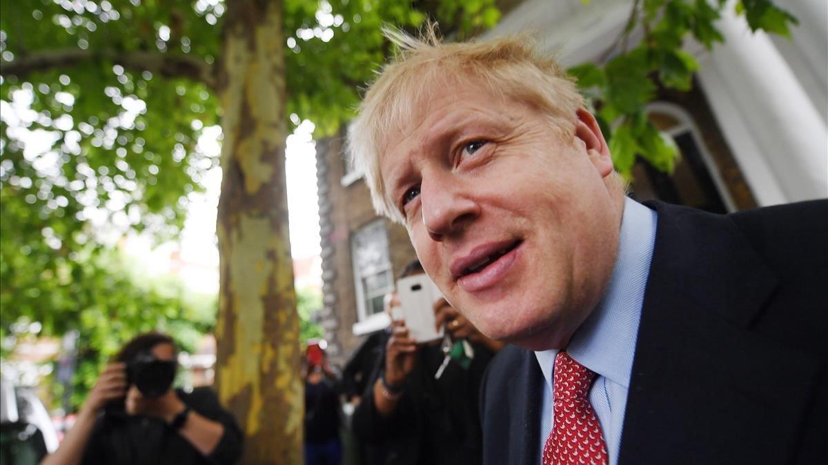 El nuevo primer ministro británico,Boris Johnson.
