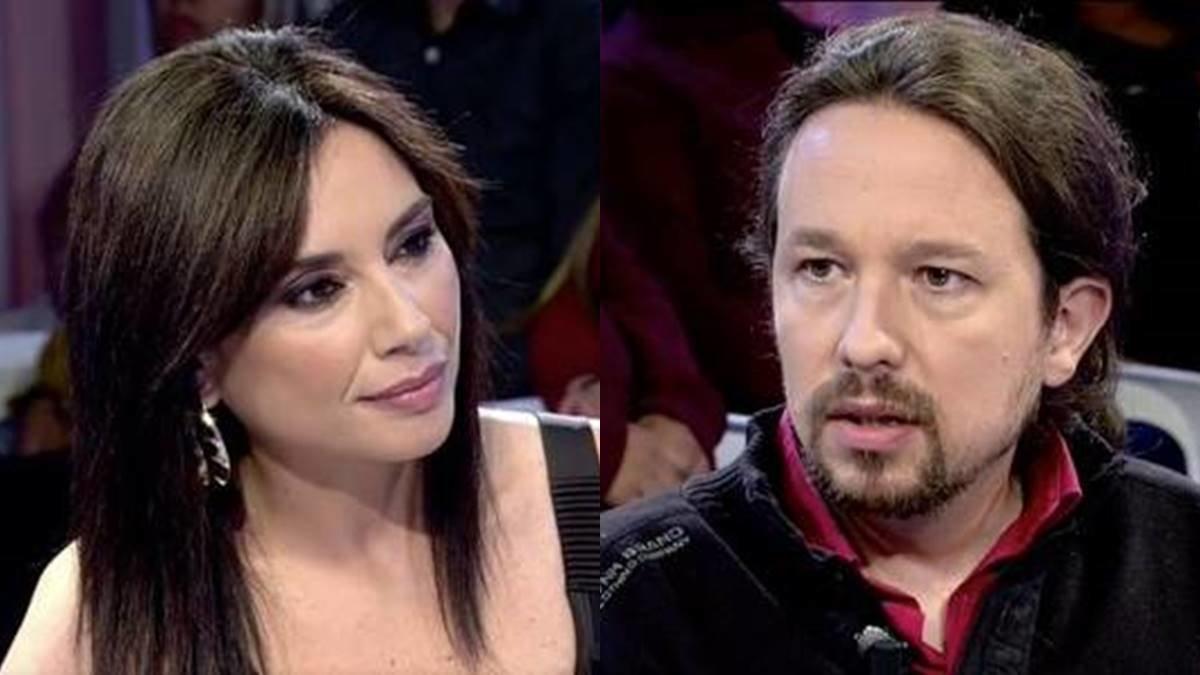 Críticas a Marta Flich por su tensa entrevista a Pablo Iglesias en 'Todo es mentira'