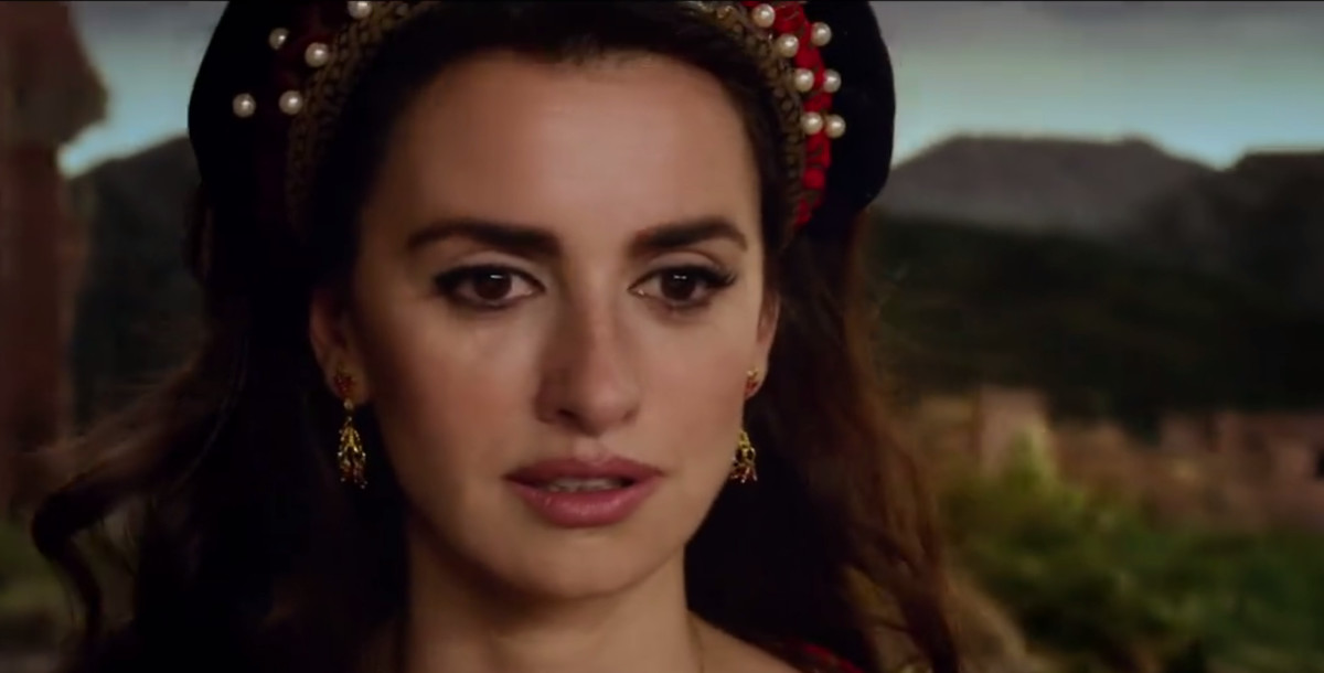 Penélope Cruz en un fotograma de La Reina de España.