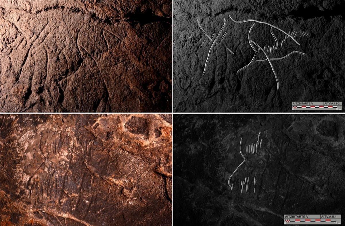 El arte hallado enAitzbitarte demostraríala existencia de una corriente artística común en la Europa prehistórica