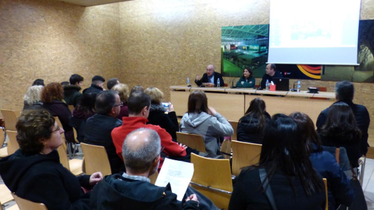 La presentación del documental en Gavà.