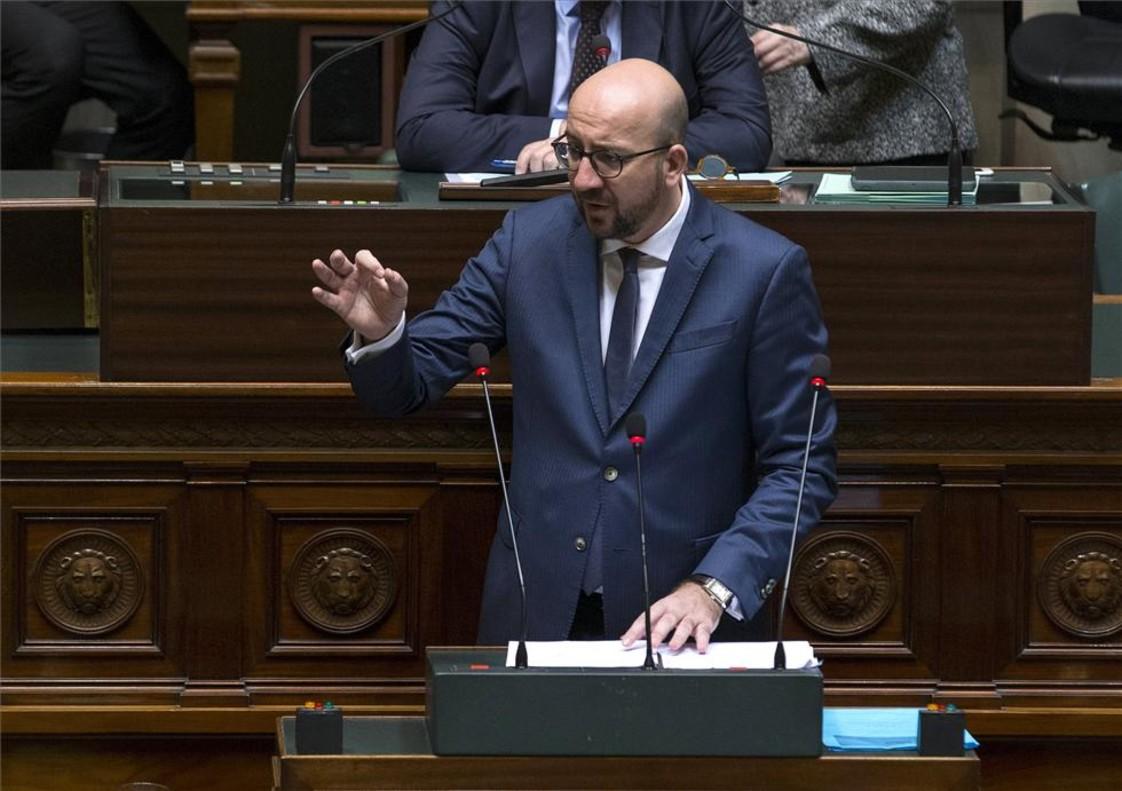 El primer ministro belga,Charles Michel.