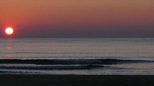 Amanecer en la Costa Brava en el mes de diciembre.