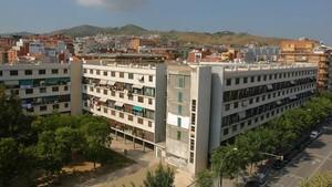 Vista de la Casa Bloc en Sant Andreu