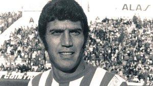 Rogelio Sosa, en su etapa como jugador del Betis.