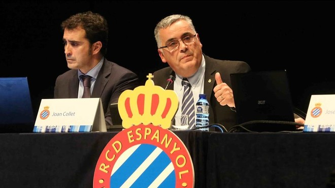 """Collet: """"El Espanyol no se habría hundido si no llega un inversor"""""""