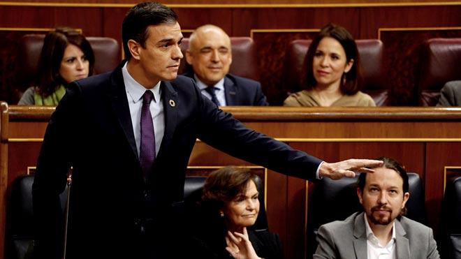 Sánchez plasma el gir del Govern sobre Veneçuela i anomena Guaidó «líder de l'oposició»
