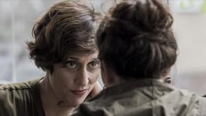 La actriz catalana Clara Segura, en la serie de TV-3 Nit i dia.