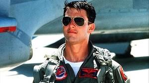 Tom Cruise, en un fotograma deTop gun.