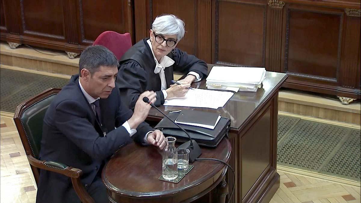 Trapero: Los Mossos estábamos preparados para detener a Puigdemont y a los exconsellers.