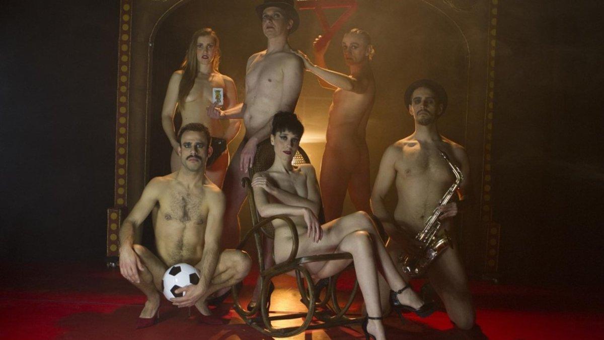 Una imagen promocional de Laberint striptease
