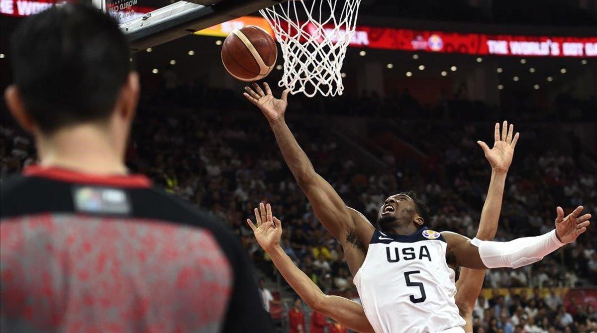 Els Estats Units, eliminats del Mundial de bàsquet